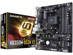 Материнська плата Gigabyte GA-AB350M-DS3H V2