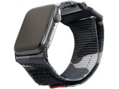 Ремінець UAG Active Strap for Apple Watch 42/44mm - Midnight Camo  (19148A114061)