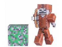 Ігрова фігурка Minecraft Skeleton in Leather Armor, серія 3, 7cm (16487M)