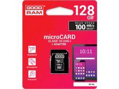 Карта пам'яті GOODRAM Micro SDXC 128GB M1AA-1280R12