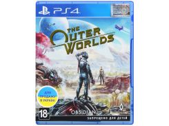 Гра The Outer Worlds [PS4, Russian subtitles] Blu-ray диск