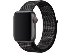 Ремінець HiC Sport Loop for Apple Watch 42/44mm Black  (EW - 4)