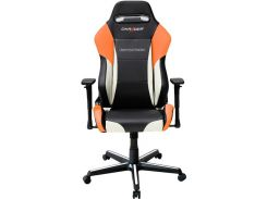 Крісло DXRACER DRIFTING OH DM61 NWO Black White Orange  (OH/DM61/NWO)