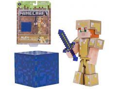 Ігрова фігурка Minecraft Alex in Gold Armor серія 4 (19970M)