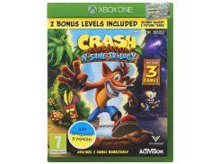 Гра Crash Bandicoot N'sane Trilogy [Xbox One, English version] Blu-Ray диск
