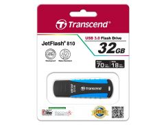 Флешка USB  Transcend JetFlash 810 32GB TS32GJF810 Light Blue