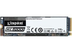 Твердотільний накопичувач Kingston KC2000 2280 PCIe 3.0 x4 NVMe 1TB SKC2000M8/1000G