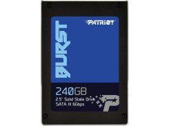 Твердотільний накопичувач Patriot Burst 240GB PBU240GS25SSDR