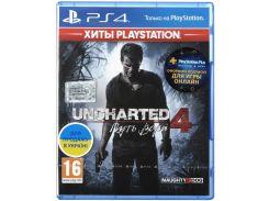Гра Uncharted 4: Шлях злодія [PS4, Russian version] Blu-ray диск