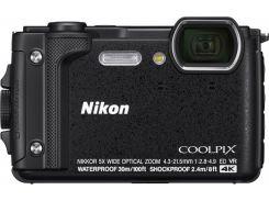 Компактна фотокамера Nikon Coolpix W300 Black  (VQA070E1)