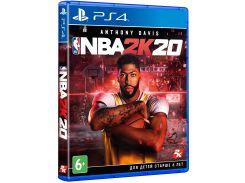 Гра NBA 2K20 [PS4, English version] Blu-Ray диск