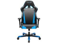 Крісло для геймерів DXRACER TANK OH/TS29/NB чорне з голубими вставками