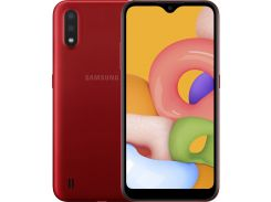Смартфон Samsung Galaxy A01 A015 2/16GB SM-A015FZRDSEK Red