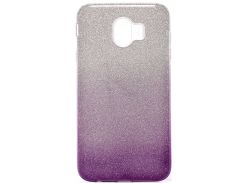 Чохол Milkin for Samsung J4 2018 - Superslim Glitter series Violet