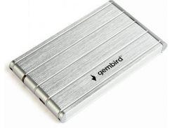Кишеня зовнішня Gembird EE2-U3S-5-S Silver