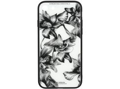 Чохол WK for Apple iPhone 7/8 - WPC-061 Flowers BK/WH  (681920359869)