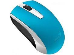 Миша Genius Genius ECO-8100 Wireless Ukr Blue  (31030010406)