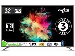Телевізор LED Gazer TV32-HS2G (Android TV, Wi-Fi, 1280×720)