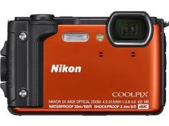 Компактна фотокамера Nikon Coolpix W300 Orange  (VQA071E1)