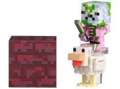 Ігрова фігурка Minecraft Zombie Pigman Jockey серія 4 7cm