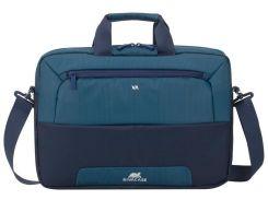 Сумка для ноутбука Riva 7737 Steel Blue/Aquamarine