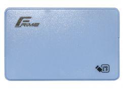 Кишеня зовнішня Frime HDD/SSD Plastic USB2.0 Blue  (FHE13.25U20)