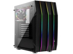 Корпус для ПК AeroCool Klaw Black with window  (KLAW  RGB TG)