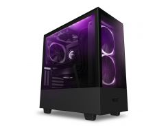 Корпус для ПК NZXT H510 Elite Matte Black with window  (CA-H510E-B1)