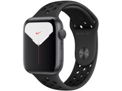Смарт годинник Apple Watch Nike+ Series 5 GPS, 44mm Space Grey Aluminium Case with Anthracite/Black (MX3W2)