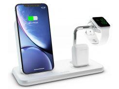 Док-станція Zens Stand Dock Watch Aluminium Wireless Charger 10W White (ZEDC07W/00)