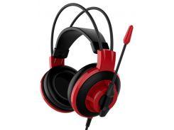 Гарнітура MSI DS501 Red/Black  (S37-2100921-SV1)