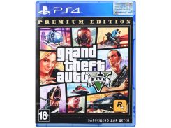 Гра Grand Theft Auto V Premium Online Edition [PS4, Russian subtitles] Blu-ray диск