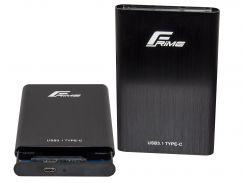 Кишеня зовнішня Frime HDD/SSD Type-C Black  (FHE40.25U31)