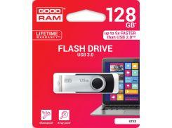 Флешка USB  GOODRAM Twister 128GB UTS3-1280K0R11 Black