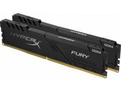 Оперативна пам'ять  Kingston HyperX Fury Black DDR4 2x16GB HX432C16FB3K2/32