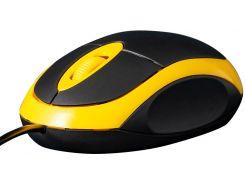Миша Frime FM-001BY Black/Yellow