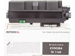 Туба-тонер Integral for Kyocera-Mita P2040dn/P2040dw аналог TK-1160 Black