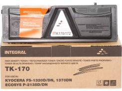 Туба-тонер + чіп Integral for Kyocera-Mita FS-1320D/1370DN аналог TK170/TK172 Black 240g