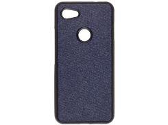 Чохол Milkin for Google Pixel 3A XL - Creative Fabric Phone Case Blue