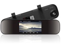 Відеореєстратор Xiaomi 70Mai Rearview Mirror Dash Cam D04 Global Black
