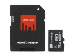 Карта пам'яті Strontium microSDHC 32 ГБ (SR32GTFC10A)