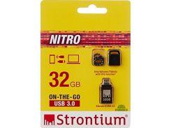 Флешка USB Strontium Nitro 32 ГБ (SR32GBBOTG2Z)