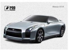 Килимок PODMYSHKU Nissan GT-R