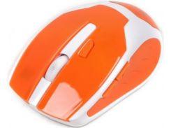 мишка maxxter mr-317-o white/помаранчева