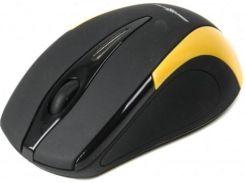 Мишка Maxxter MC-401-O Black/оранжева
