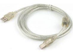 Кабель USB Cablexpert AM / BM 2 м прозорий