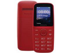 Мобільний телефон Philips E109 Xenium Red