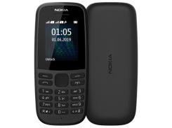 Мобільний телефон Nokia 105 2019 Black  (105 SS 2019 Black)
