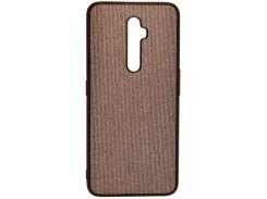 Чохол Milkin for Oppo Reno2 Z - Creative Fabric Phone Case Grey