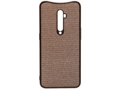 Чохол Milkin for Oppo Reno2 - Creative Fabric Phone Case Grey